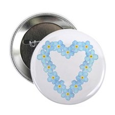 """Forget Me Not 2.25"""" Button (10 pack)"""