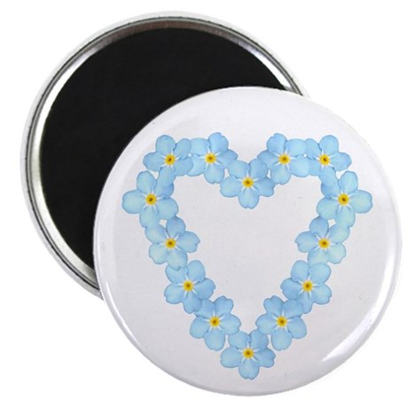 """Forget Me Not 2.25"""" Magnet (100 pack)"""