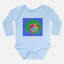 chipmunk Long Sleeve Infant Bodysuit