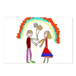 Young Love Postcards (Package of 8)