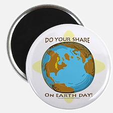 Funny Earth Day Uranus Magnet