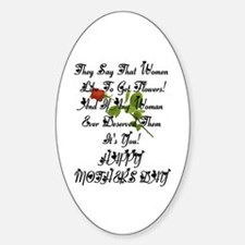 Mother's Day! Oval Decal