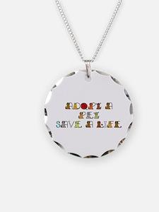 Unique Homeless pets Necklace