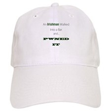 An Irishman walked into a bar Baseball Baseball Cap