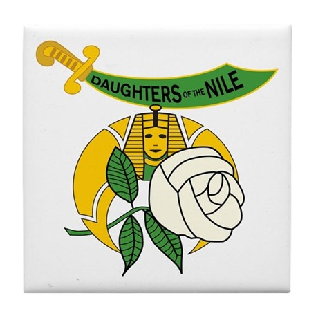 Daughters of the Nile Tile Coaster