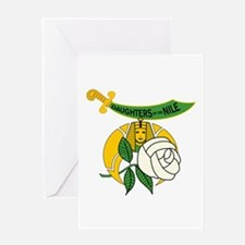 Daughters of the Nile Greeting Card
