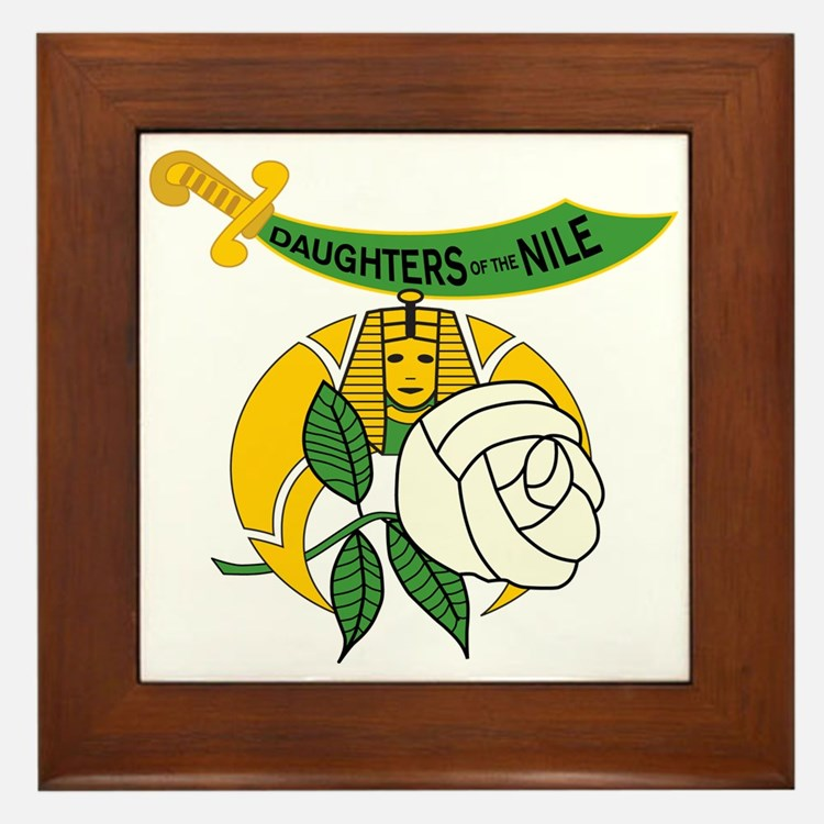 Daughters of the Nile Framed Tile