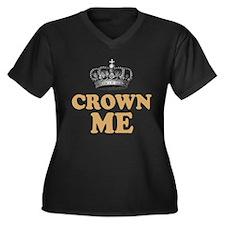 Crown Me Royal British Women's Plus Size V-Neck Da