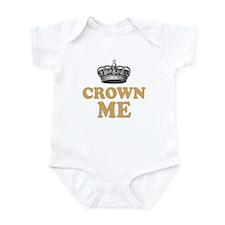 Crown Me Royal British Infant Bodysuit