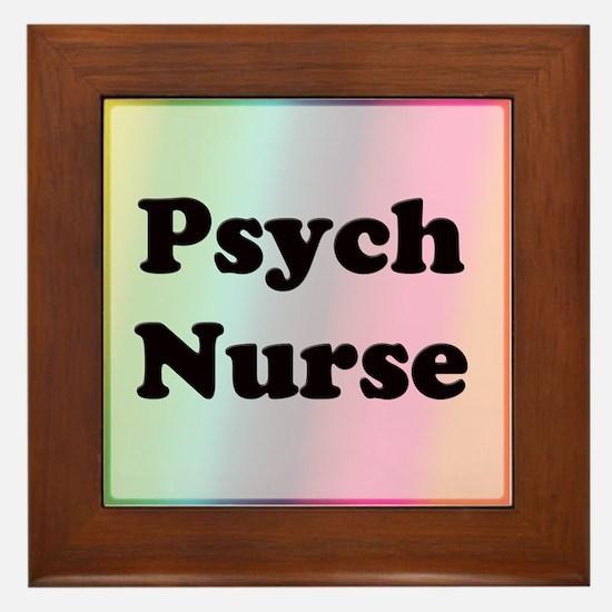Cute Psych Framed Tile