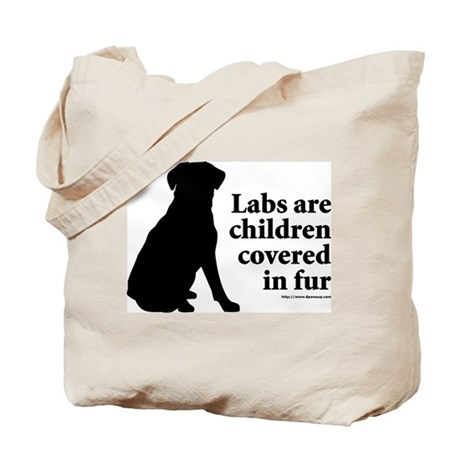 Lab are Fur Children Tote Bag