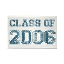 Class of 2006 (blue) Rectangle Magnet