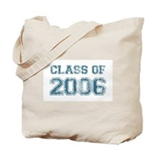 Class of 2006 (blue) Tote Bag