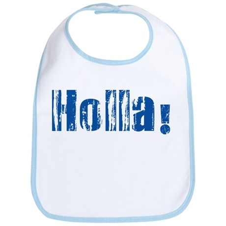 Holla Blue Bib