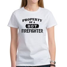 Property of a Hot Firefighter Tee