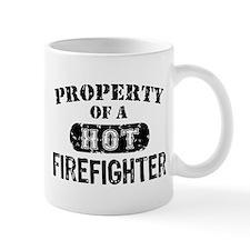 Property of a Hot Firefighter Mug