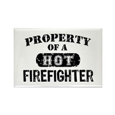 Property of a Hot Firefighter Rectangle Magnet