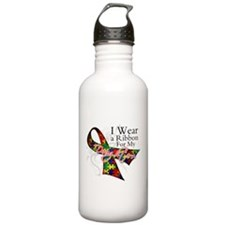 For My Daughters Autism Water Bottle