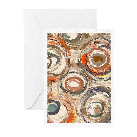 Circles Greeting Cards (Pk of 20)
