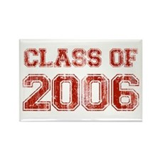 Class of 2006 (red) Rectangle Magnet