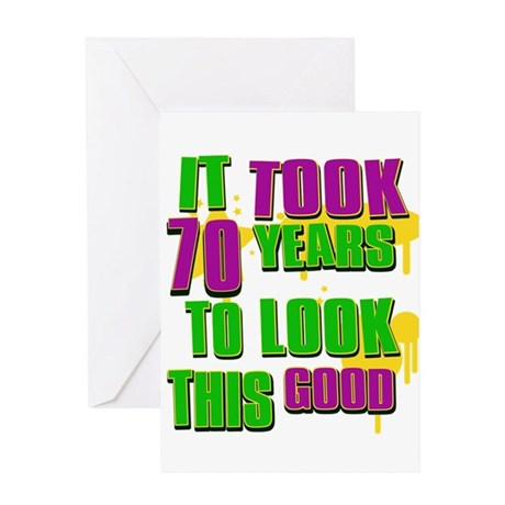 It took 70 years to look this Greeting Card