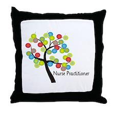 Nurse Practitioner II Throw Pillow