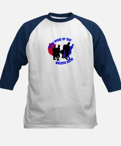 Welcome Home Soldiers Kids Baseball Jersey