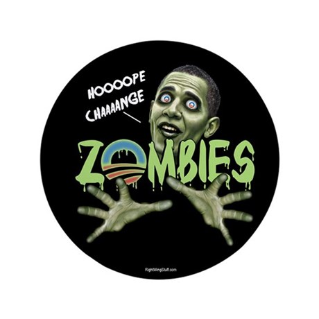 "ZOMBIES 3.5"" Button (100 pack)"