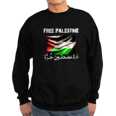 Free Palestine ( new 2011 ) Sweatshirt (dark)