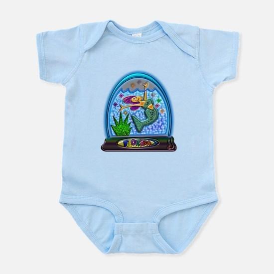 Mermaid Florida Souvenir Infant Bodysuit