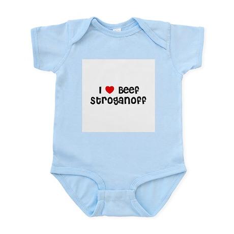 I * Beef Stroganoff Infant Creeper