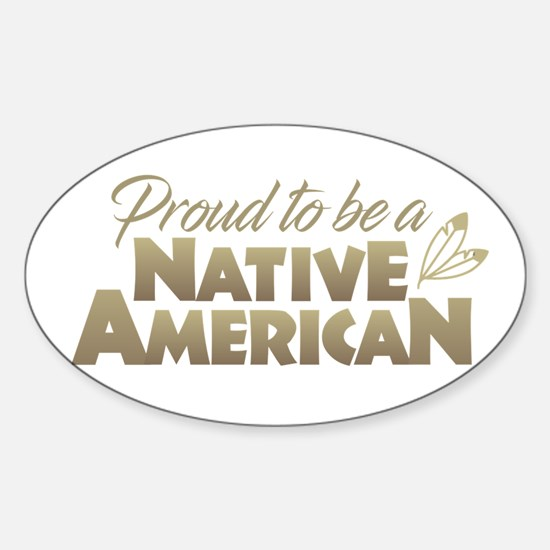 Proud Native American Decal