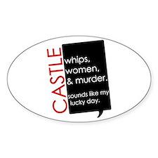 Castle Sticker (Oval)