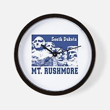 Mt. Rushmore South Dakota Wall Clock