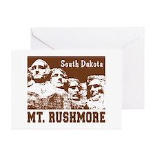 Mt. Rushmore South Dakota Greeting Cards (Package