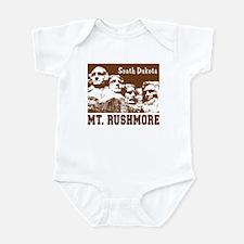 Mt. Rushmore South Dakota Infant Creeper
