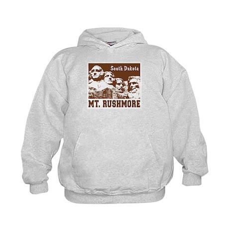 Mt. Rushmore South Dakota Kids Hoodie