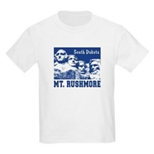 Mt. Rushmore South Dakota Kids T-Shirt