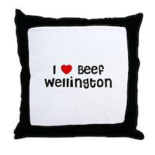 I * Beef Wellington Throw Pillow