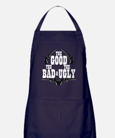 Good Bad Ugly Apron (dark)