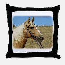 Palomino Horse 9R015D-184 Throw Pillow