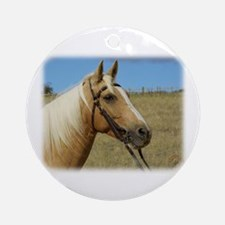 Palomino Horse 9R015D-184 Ornament (Round)