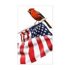 USA Cardinal Decal
