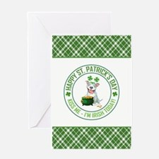 HAPPY ST. PATRICK... Greeting Cards