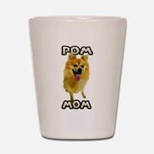 Pomeranian Mom Shot Glass