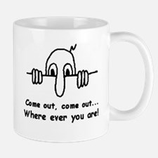 *DISCOUNTED* B/W Come OUT! Mug