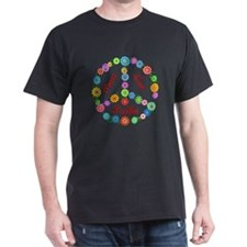 Peace Love Poodles T-Shirt