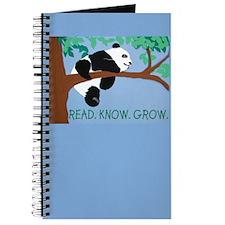 Panda says Read.Know.Grow. Journal