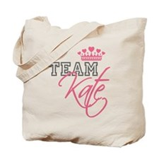 Team Kate Royal Crown Tote Bag