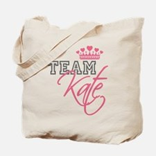 Team Kate Royal Crown Tote Bag